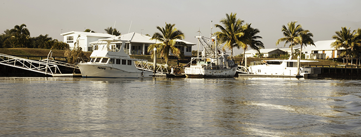 Port of Call Boating and Fishing Supplies at Cardwell